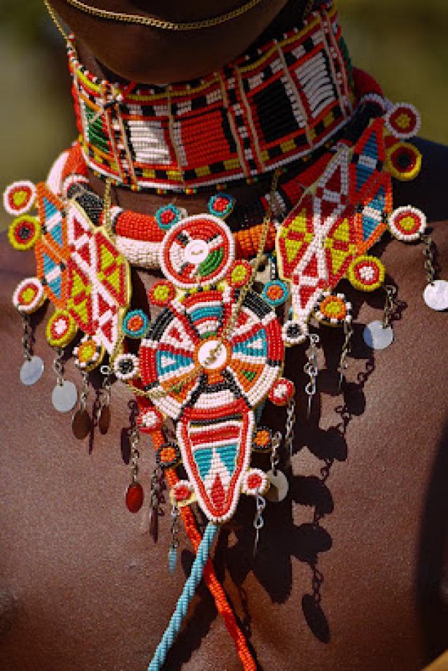 Африканские украшения своими руками