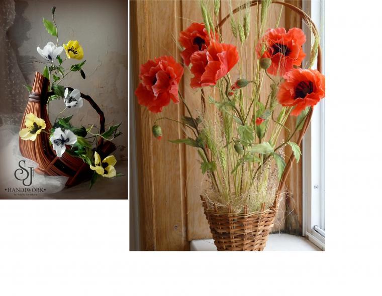 декор для штор, цветоделие