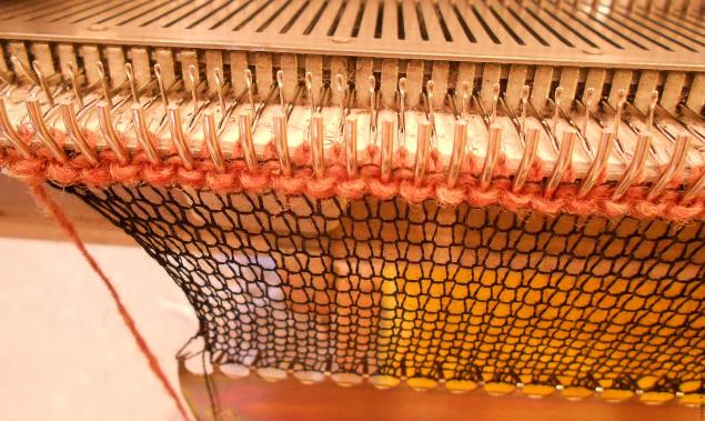вязание чешуек