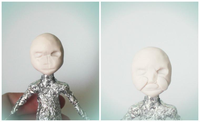 маленькая кукла