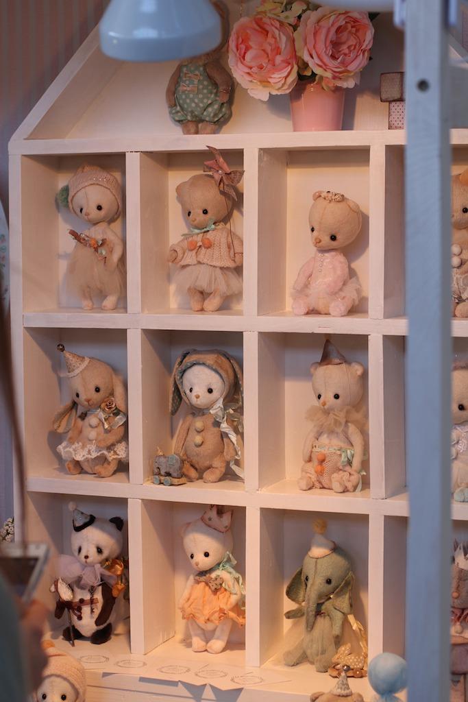 Международной выставка авторских кукол и мишек «Панна DOLL'я» в Минске. Часть 1., фото № 16