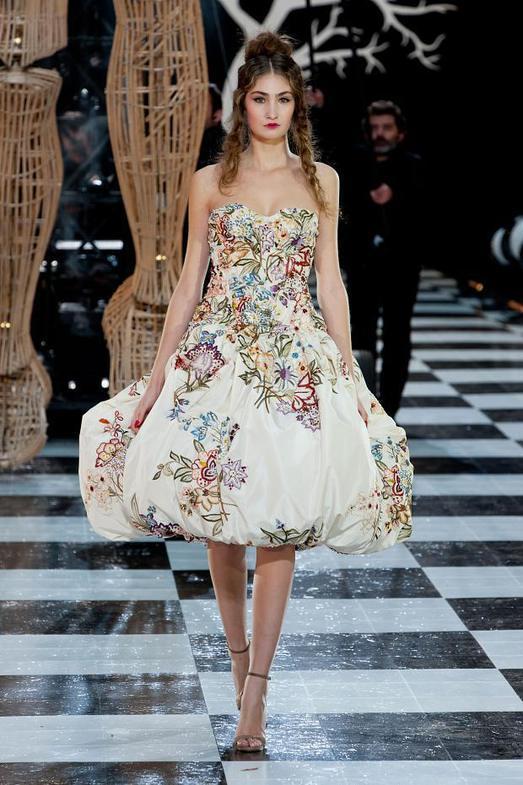 Franck Sorbier Haute Couture весна-лето 2014, фото № 16
