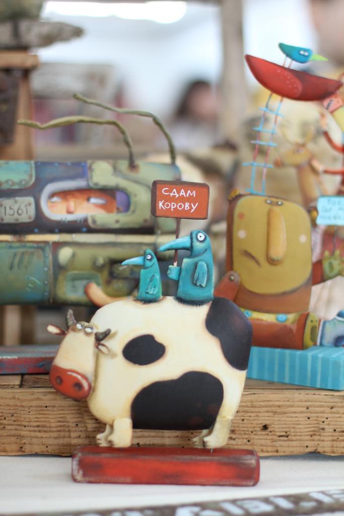 Международной выставка авторских кукол и мишек «Панна DOLL'я» в Минске. Часть 1., фото № 19