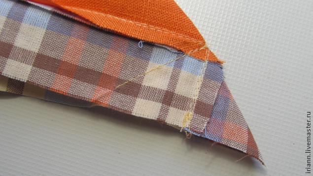Как сделать край ткани