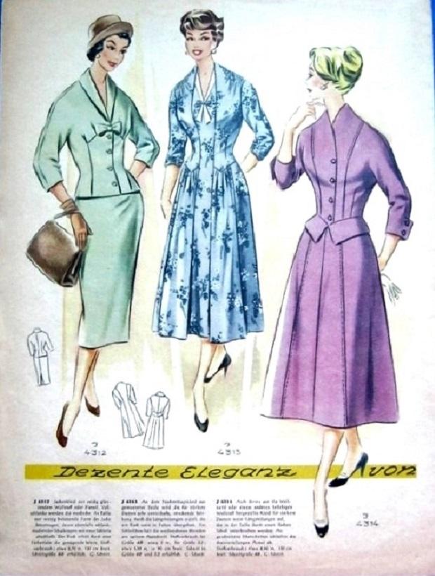 Журнал мод 50 60-х годов 80