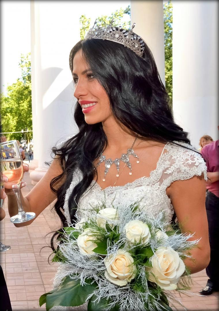 свадебные аксессуары, диадема swarovski, винтажный стиль, корона для невесты