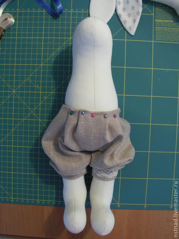 Мастер класс панталоны для куклы