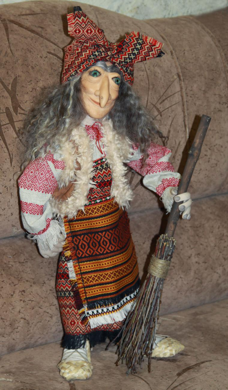 коллекционная кукла, лепка