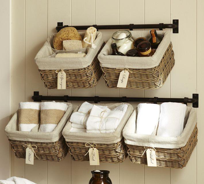 где хранить полотенца