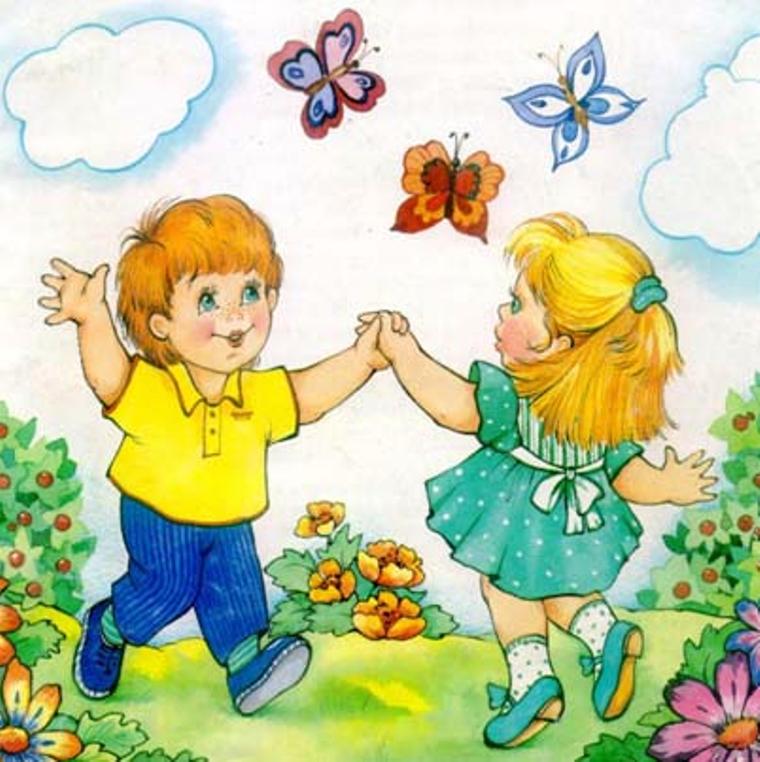 картинки для рассматривания о дружбе ногтей