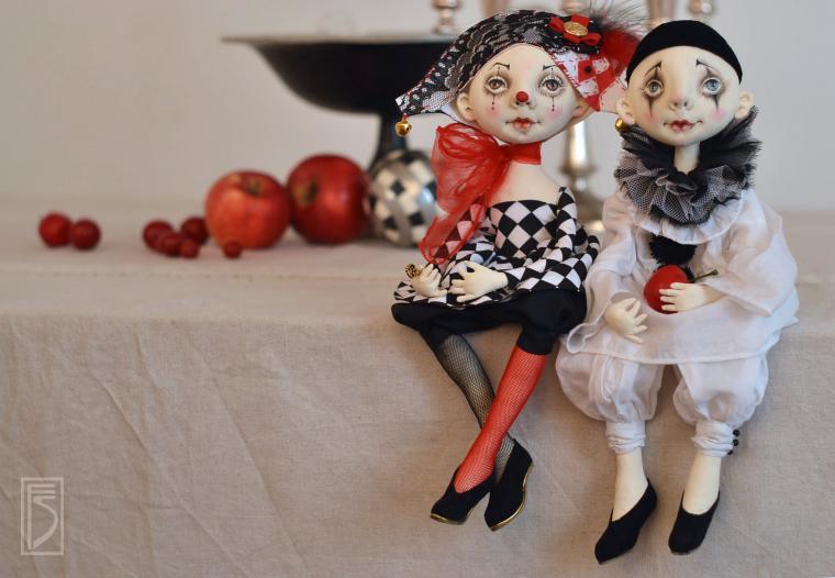 Кукла в маске сшить 74