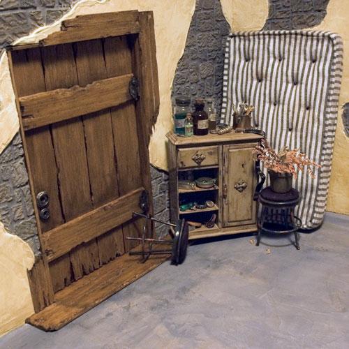 Невероятные кукольные домики и интерьеры Hila Rosenberg. Часть 2, фото № 11