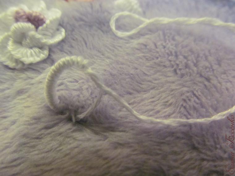 刺绣教程:在天鹅绒布上绣花 1(大师班) - maomao - 我随心动