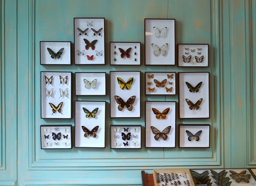 Бабочки для декора фоторамки