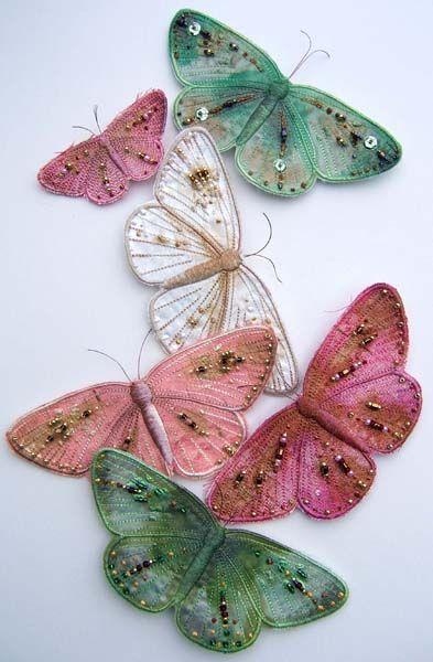 Текстильные шедевры, или Бабочки как источник вдохновения, фото № 16