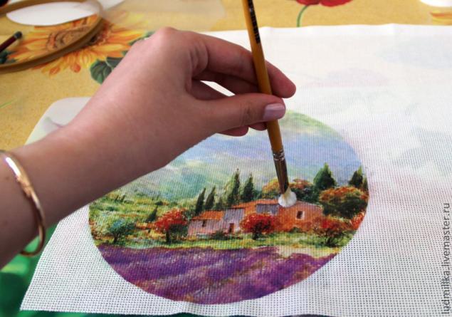 Декупаж вышивка картинки