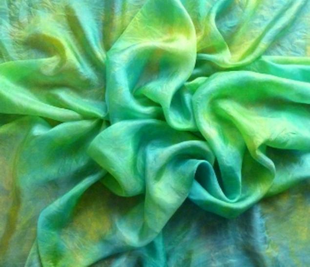 акция, подарки, шарф шелковый, шелк натуральный, шибори