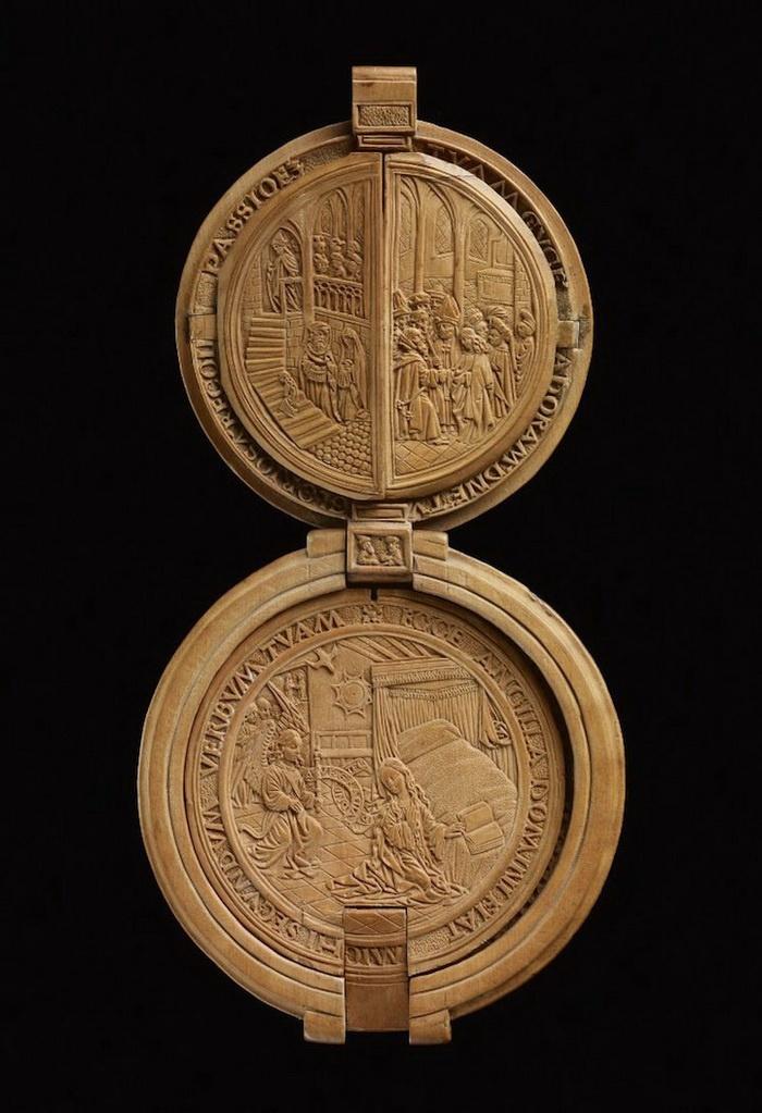 миниатюра, деревянный шар