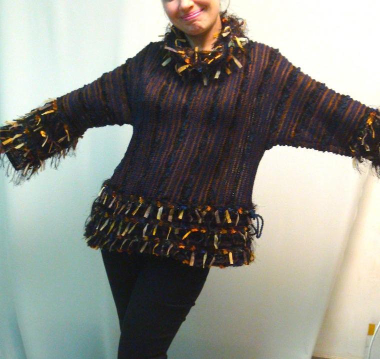 аукцион кондриной, дизайнерская одежда, вязаная одежда