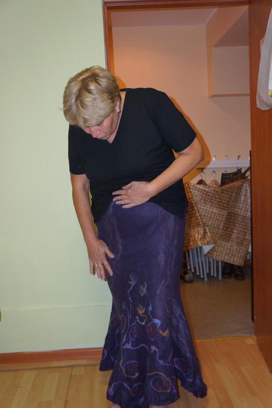 валяем юбку