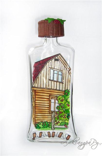 творчество, бутылка