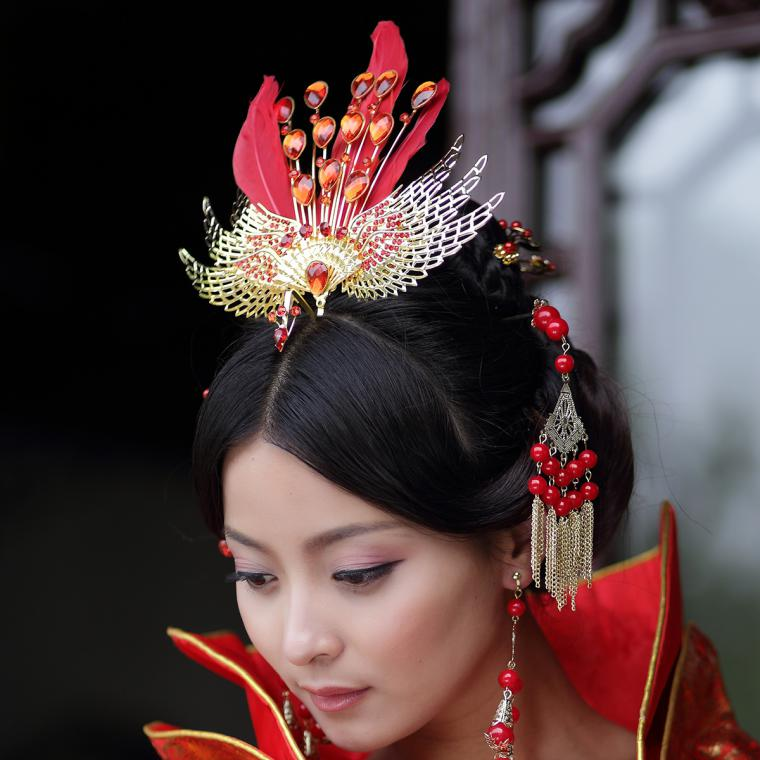 chinese hair accessories