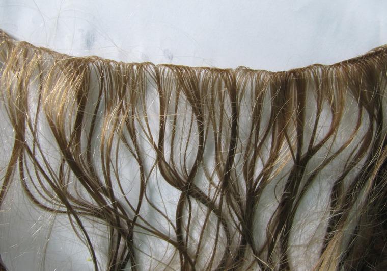 Делаем волосы для кукол — трессы