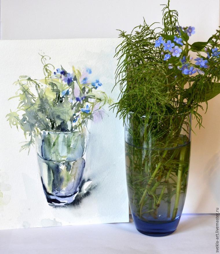 мк, полевые цветы