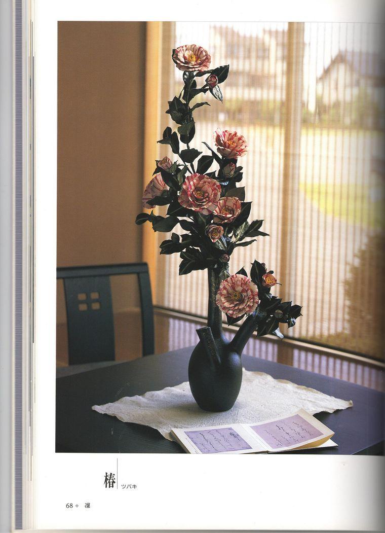 цветы из кожи мк