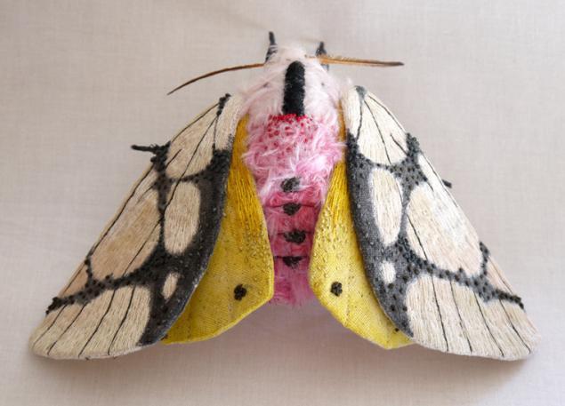 Дивные текстильные насекомые от мастера Yumi Okita, фото № 9
