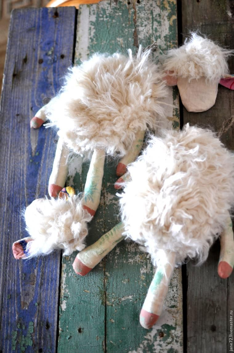 шитье овечки
