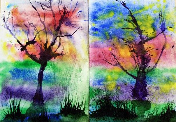 бесплатный мастер-класс, детям, рисунки, каникулы, творим с детьми