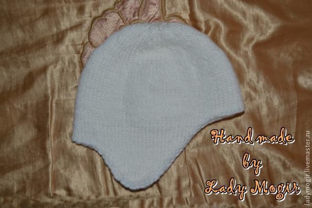 вязаная шапка, описание