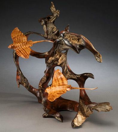 J. Christopher White.  Изящные деревянные скульптуры. Тринадцатая