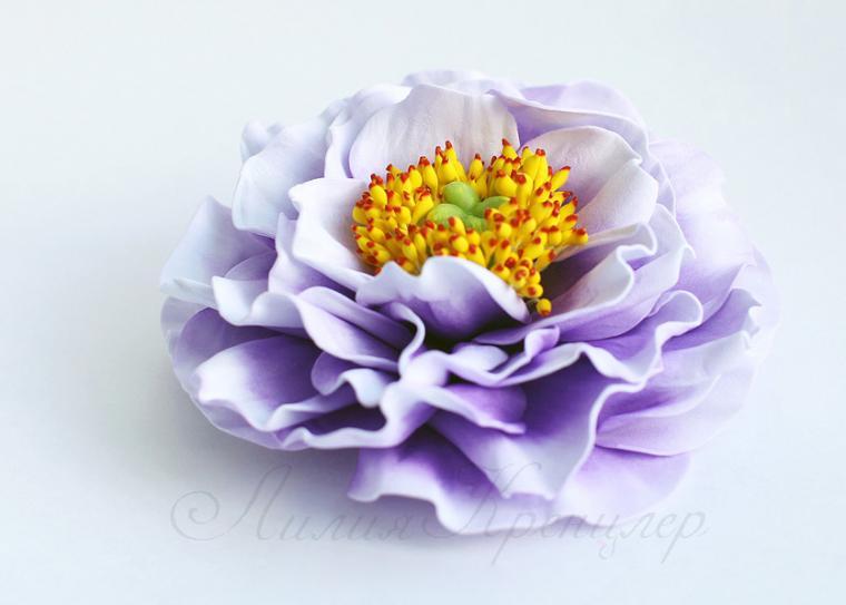 фоамиран, цветы ручной работы