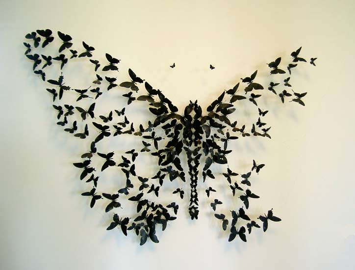 Бабочки как элемент дизайна интерьера, фото № 43
