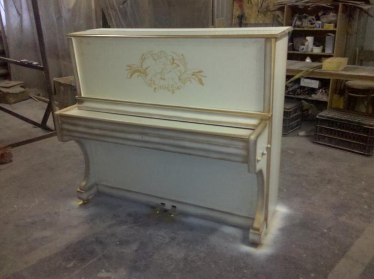 роспись пианино