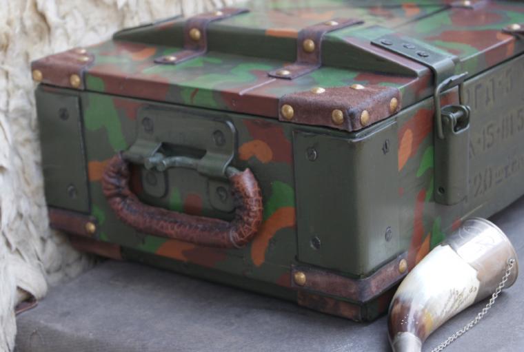 большой ящик, короб для охотника, солидный подарок