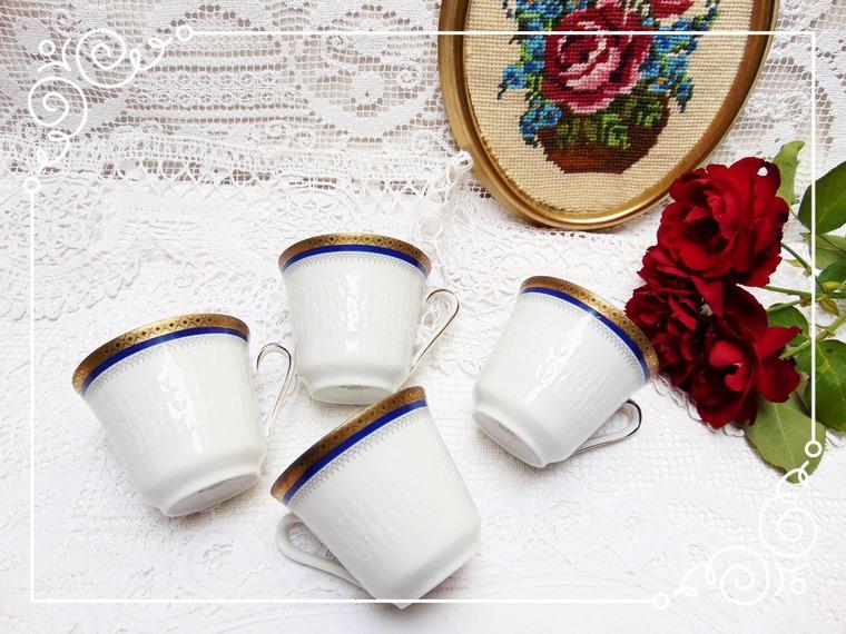 чайный набор, кобальт, подарок