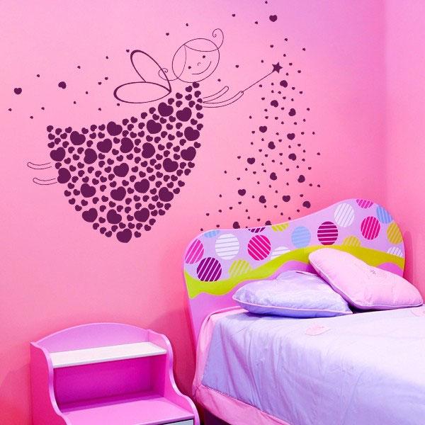 Рисунок своими руками на стену в детскую комнату
