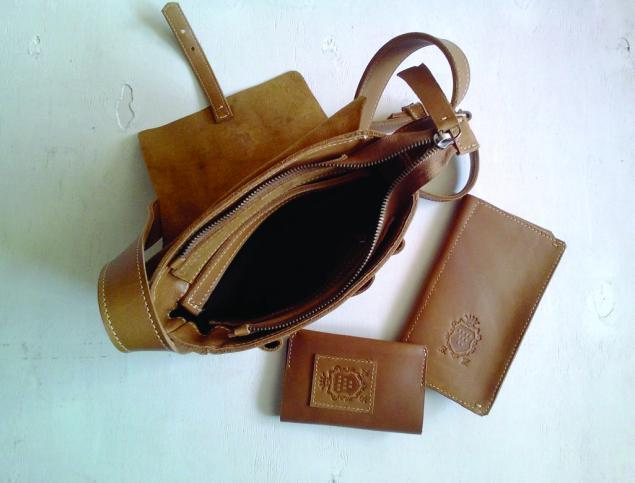 сумка для документов, герб, кельты