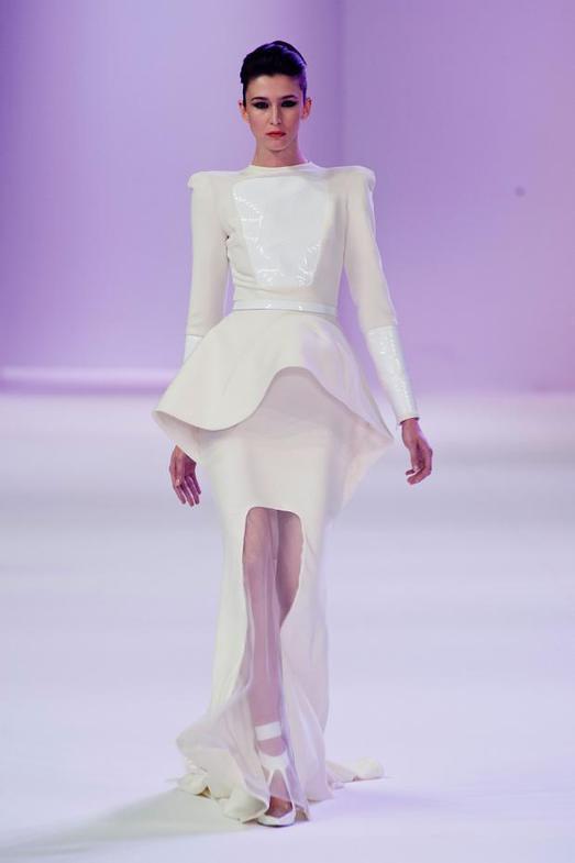 Stephane Rolland Haute Couture весна-лето 2014, фото № 18