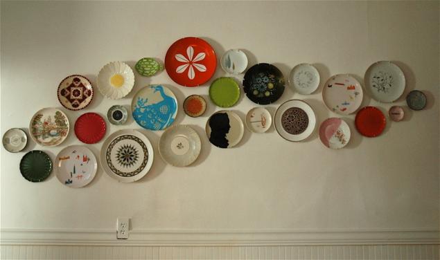 Как сделать тарелку на стену своими руками