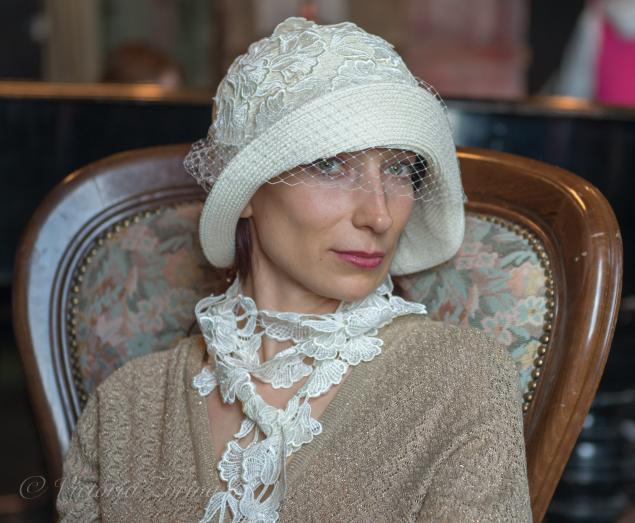 женские шляпки, авторские головные уборы