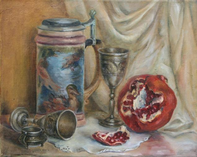 масляная живопись, картина акварелью