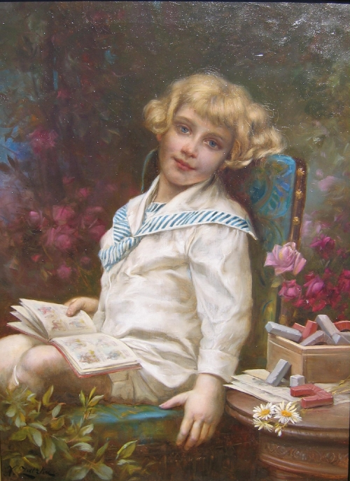 Шедевры живописи. Картины австрийского художника Ханса Зацка, фото № 13