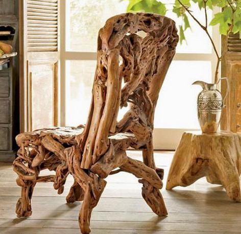 Изделия из корней деревьев