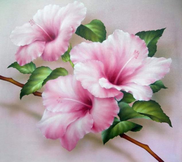 цветы на принтере