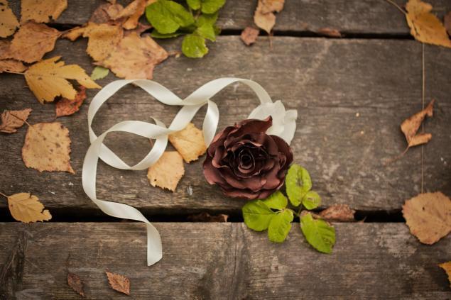 осень, невеста, time-flowers
