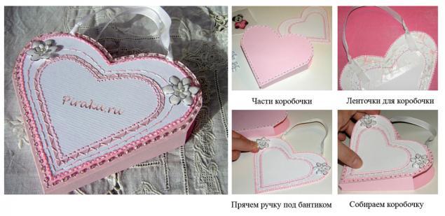 Влюбленное сердце. Оригинальные идеи упаковки подарка., фото № 30